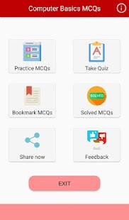 Download Computer Basics MCQs For PC Windows and Mac apk screenshot 1