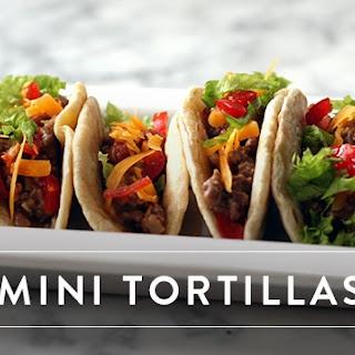 Mini Tortillas.