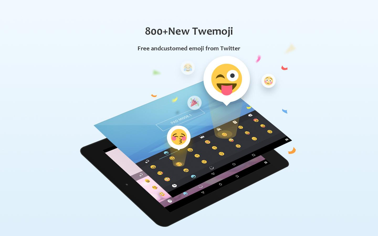 Screenshots of GO Keyboard - Emoji, Sticker for Android