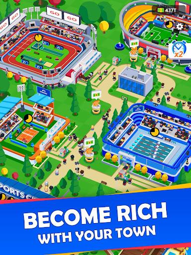 Idle Sports City Tycoon - Create a Sports Empire 0.8.2 screenshots 8