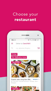 App foodpanda - Local Food Delivery APK for Windows Phone