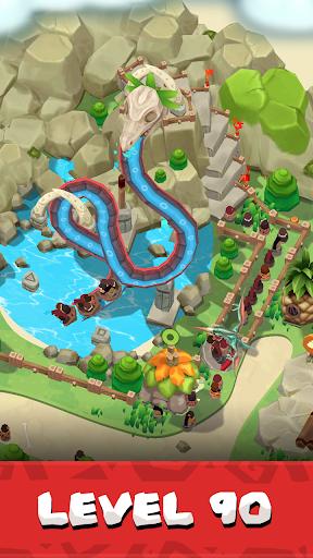 Code Triche Stone Park : Magnat préhistorique apk mod screenshots 5