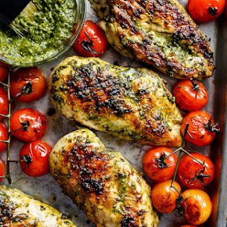 2 Ingredient Pesto Chicken