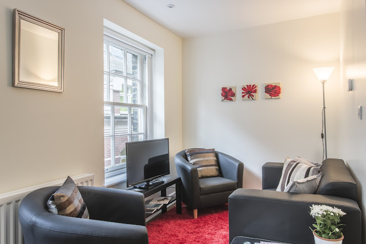 Living area at Artillery Lane in Liverpool Street