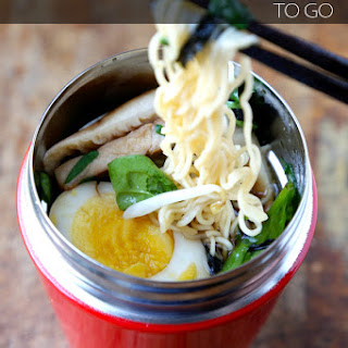 Ramen Noodle Soup To Go