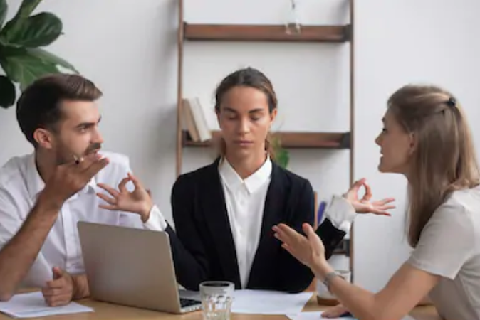 Three Methods of avoiding a fight with your co-workers with negotiation skills. Source: ShutterStock