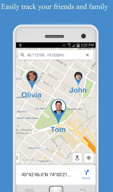 #1. Friend Locator : Phone Tracker (Android)
