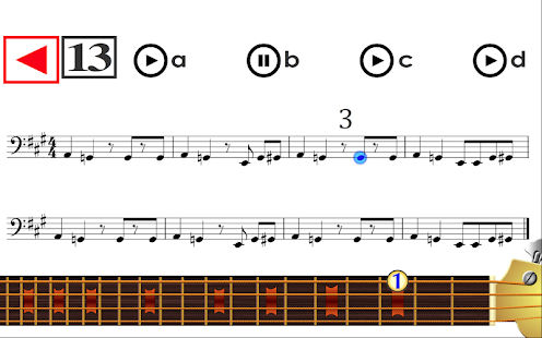 Learn to play Bass Guitar PRO Screenshot