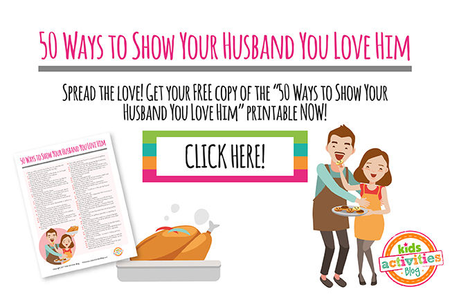 50 Ways to Show Your Husband You Love Him