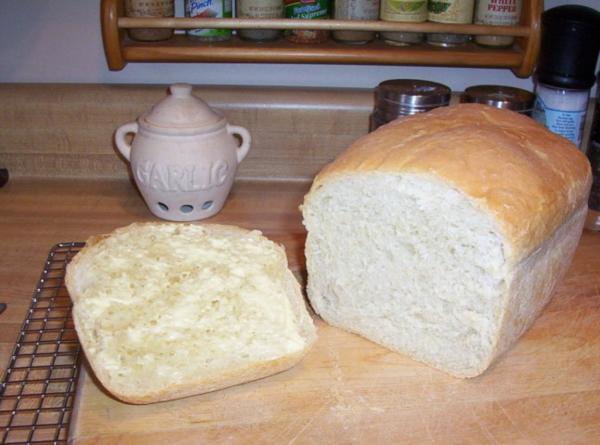 Bread Machine White Bread Recipe