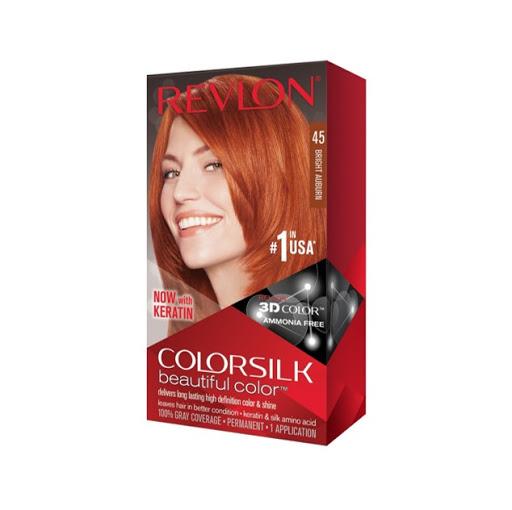 Tinte Revlon Color Silk Rubio Cobrizo 45