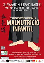 Photo: Poster de la 3a marató Solidaria d'Aikido