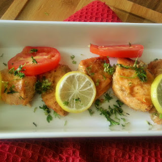 Masaledar Salmon - Indian spiced Baked Salmon.