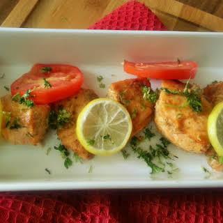 Masaledar Salmon - Indian spiced Baked Salmon.