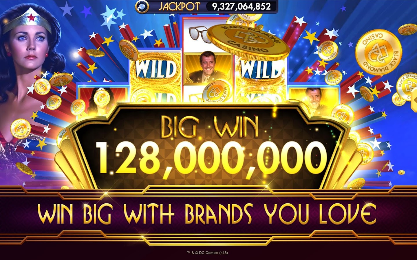 SLOTS - Black Diamond Casino- screenshot