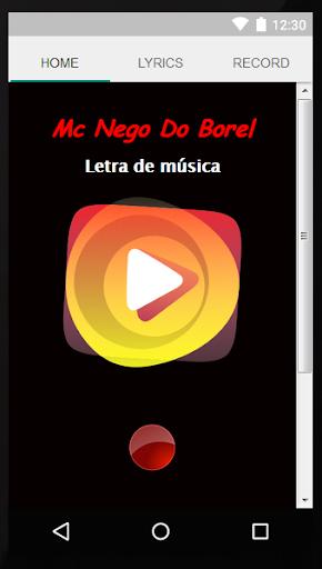 Mc Nego Do Borel Letras