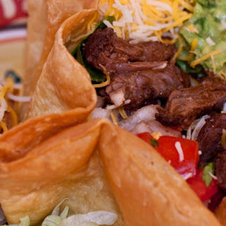 Shredded Bison Taco Meat