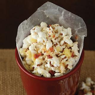 Irish Cheese and Bacon Popcorn.
