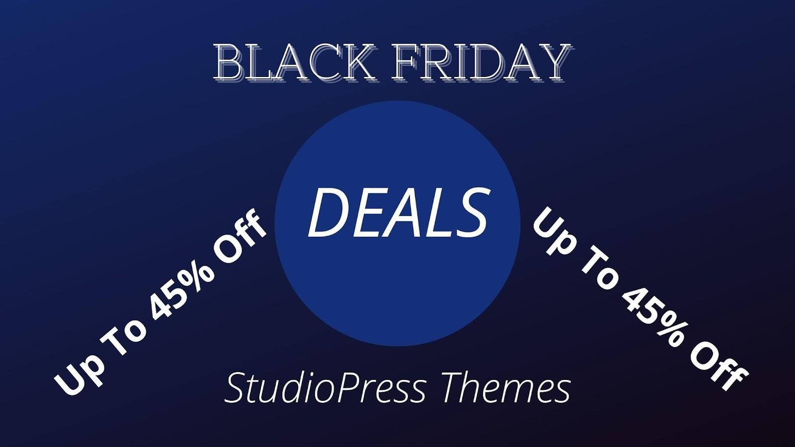 StudioPress: Upto 45% Off