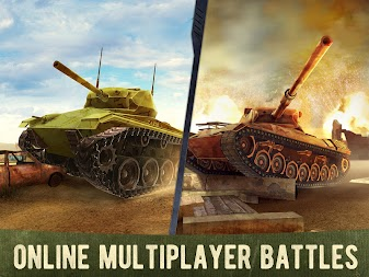 War Machines: Free Multiplayer Tank Shooting Games APK screenshot thumbnail 3