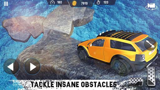 Télécharger Gratuit 4x4 Voiture Conduire  SUV de conduite automobile mod apk screenshots 2