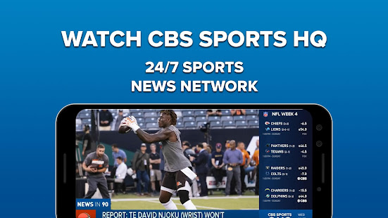 App CBS Sports App - Scores, News, Stats & Watch Live APK for Windows Phone