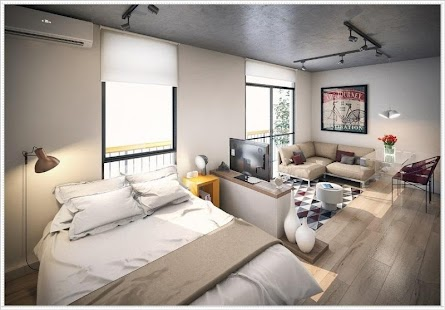 free apartment studio design idea screenshot thumbnail - Design Idea