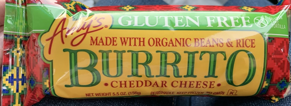 Burrito - Cheddar Cheese