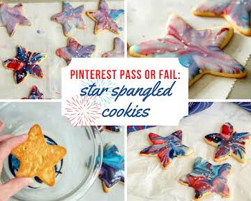 Pinterest Pass or Fail: Star Spangled Cookies