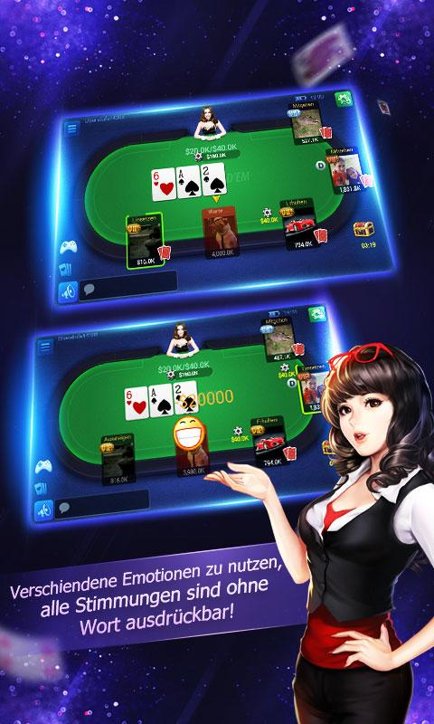 Deutsch Texas Hold'em- screenshot