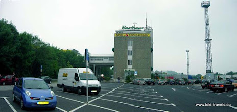 Photo: Eisenach, voormalige DDR grensovergang.