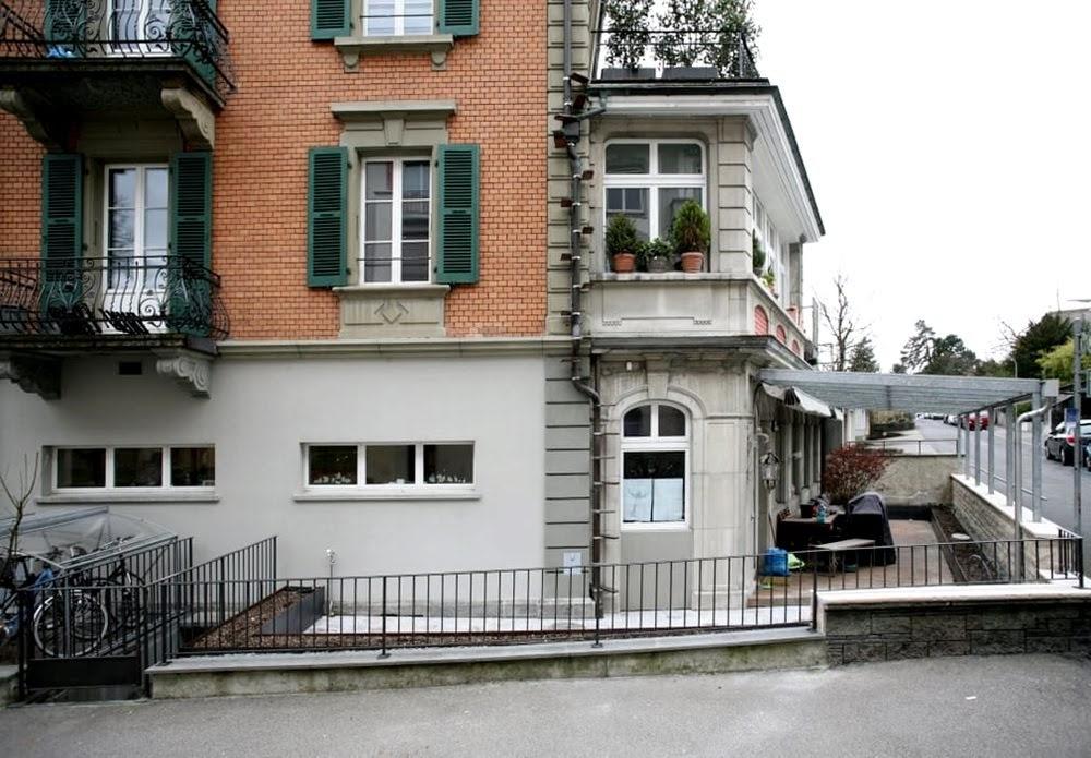 As escadas de gatos da Suíça