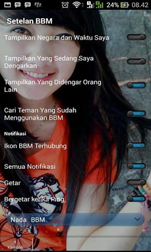 Tema BBM® Transparan