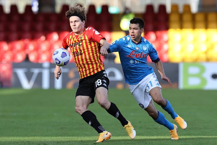 """Daam Foulon épanoui en Italie : """"Je me sens bien à Benevento"""""""