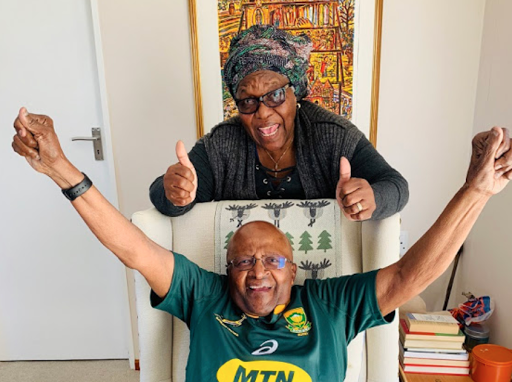 'You have already won! God bless you': The Arch sends wishes to Boks ahead of final