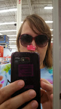 Photo: After checking out those cool polishes, I also noticed the large selection of affordable sun glasses. I love these. They are only $5! Score!