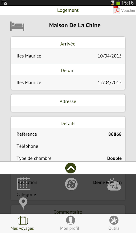 Terre et Nature Mobile- screenshot