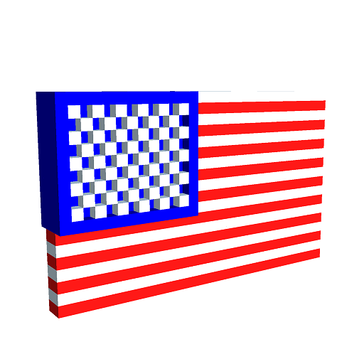 Flags 3D Color by Number - Pixel Art 3D Coloring Icon