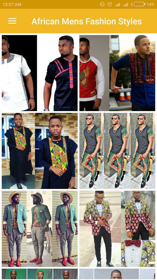 African Men's Fashion Styles- screenshot