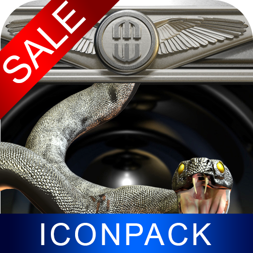 Serpent HD Icon Pack