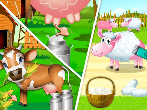 Little Farmer - Farming Simulator - Kids Games screenshots 6