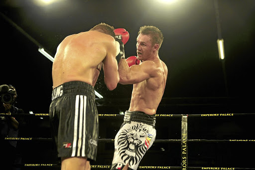 Ryno Liebenberg will be in action in Germany against Vincent Feingenbutz on February 24.