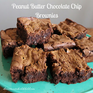 Chocolate Brownies With Peanut Butter From Mix Recipes