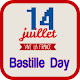 Bastille Day Greeting Cards for PC-Windows 7,8,10 and Mac