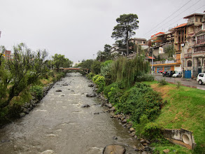 Photo: Rio Tomebamba (one of four in Cuenca)