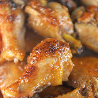 Sweet and Spicy Chicken Wings.
