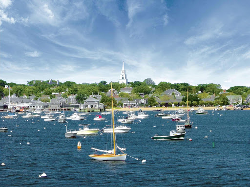 Nantucket-Harbor.jpg - Schooners and beautiful colonial houses will catch the attention of guests aboard American Cruise Lines in Nantucket Harbor.