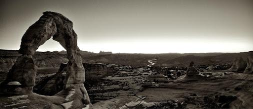 Photo: A road runs through it.  Tony Mignot at http://gimpytripod.blogspot.com