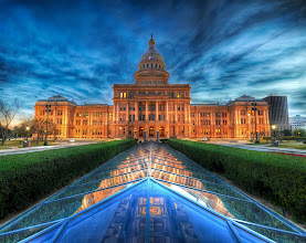 Photo: The State Capitol of Texas at Dusk - I went down on Saturday evening to do some shooting around Austin and caught the capitol around sunset. There are all kinds of interesting things about the Texas capitol, like this cool underground Illuminati chamber you can see here, but the one thing that all Texans seem to know is that our capitol is 14 feet taller than the one in D.C. -- from Trey Ratcliff at http://www.StuckInCustoms.com - all images Creative Commons Noncommercial