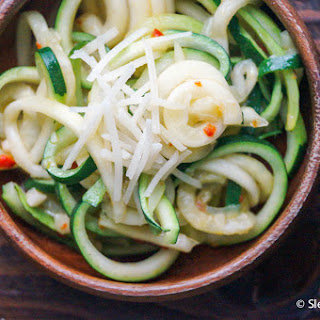 Parmesan Zucchini Noodles
